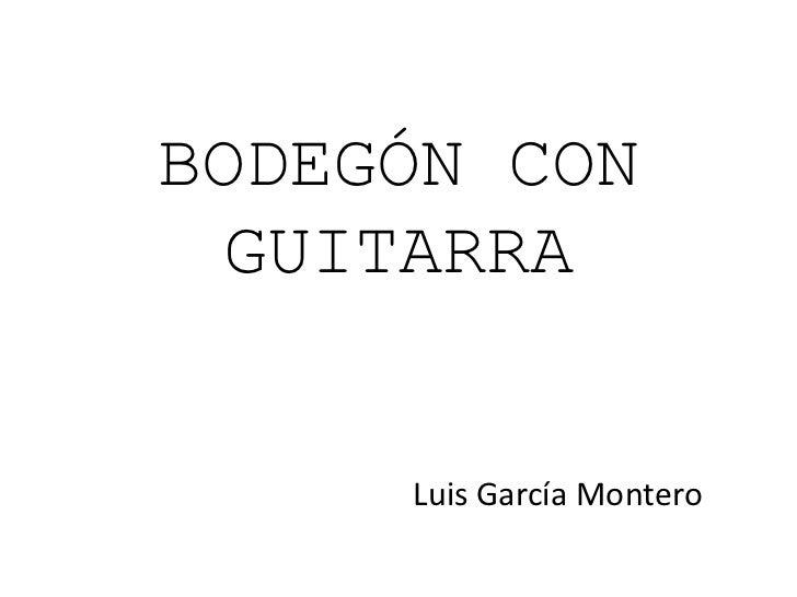Letras para el arte con Luis García Montero