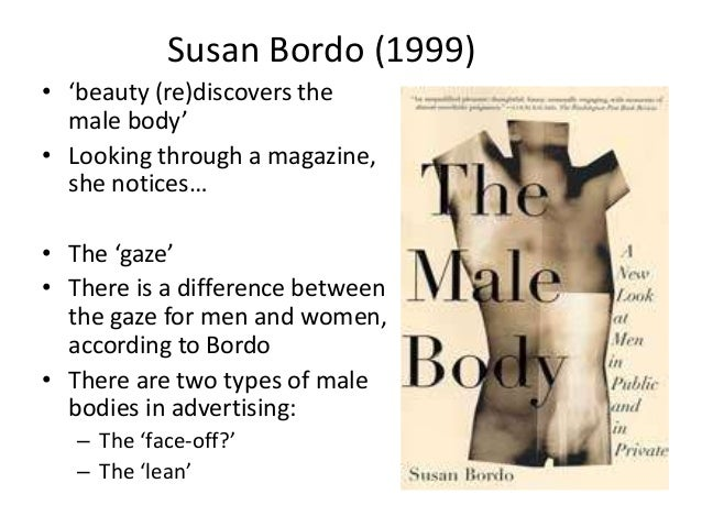 beauty rediscovers the male body thesis