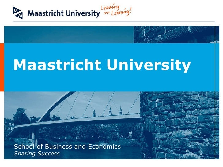 Master thesis maastricht university finance