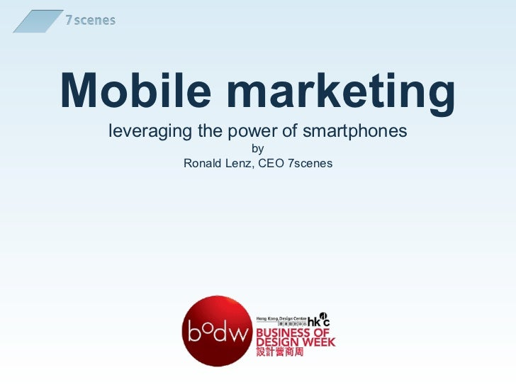 BoDW 11   mobile marketing - 20111125