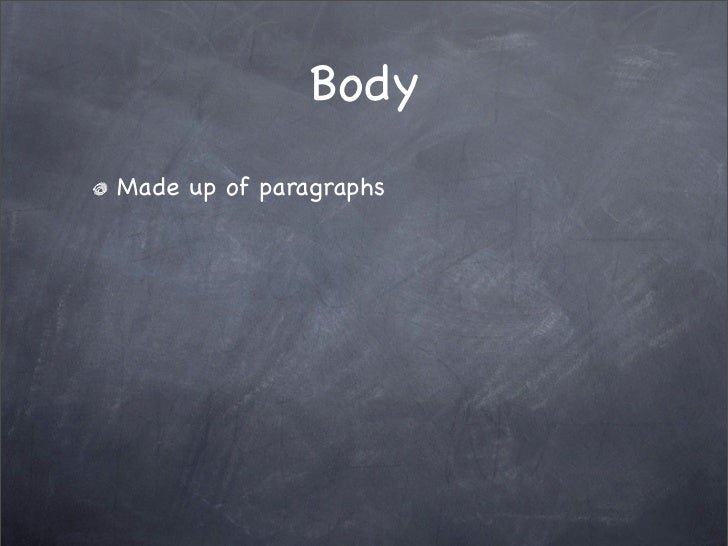 essays on body images