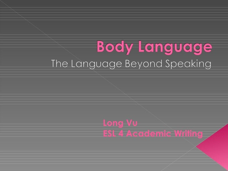 Long Vu ESL 4 Academic Writing