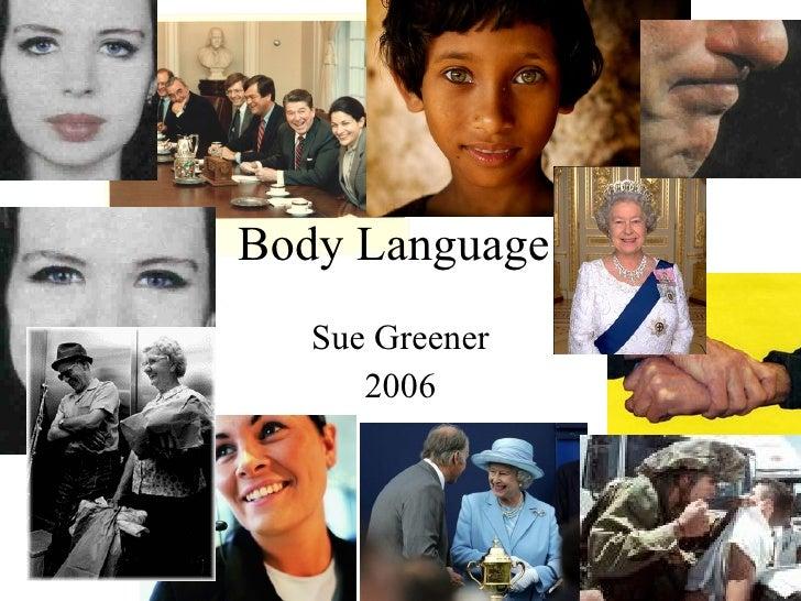 Body Language (Parish Fship Jan 06)