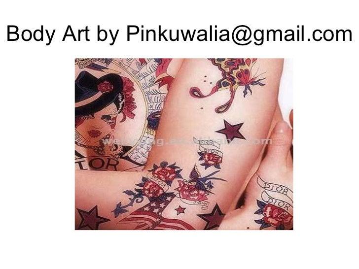 Body Art by Pinkuwalia@gmail.com