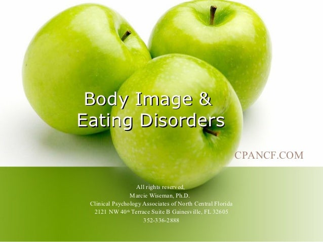 Body Image &Eating Disorders                                                           CPANCF.COM                  All rig...