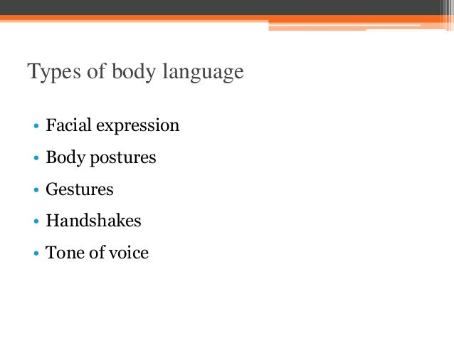 body language in business communication pdf