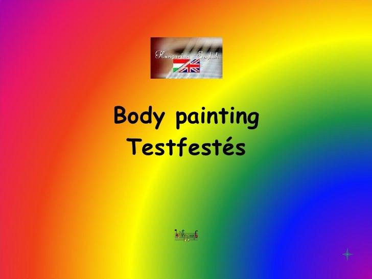 Body Painting Bikini