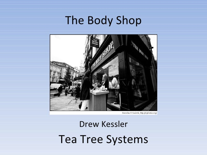 the body shop case study on