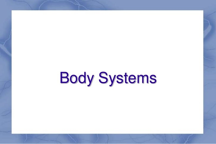 Body Systems<br />