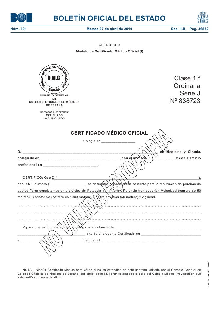 BOLETÍN OFICIAL DEL ESTADO Núm. 101                                                               Martes 27 de abril de 20...
