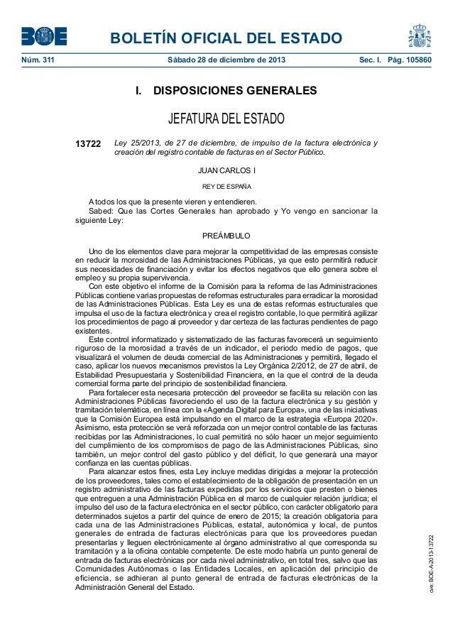 BOLETÍN OFICIAL DEL ESTADO Núm. 311  Sábado 28 de diciembre de 2013  Sec. I. Pág. 105860  I. DISPOSICIONES GENERALES  J...