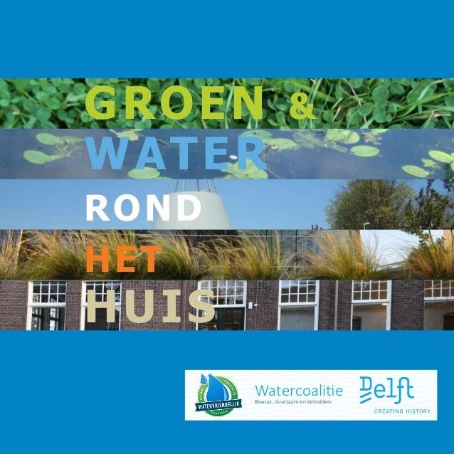 Boekje groen en water
