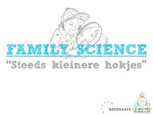 Family Science session 1