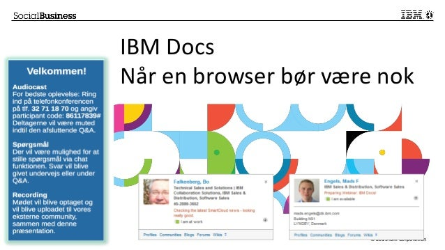 Bof webinar-ibm docs-august2013