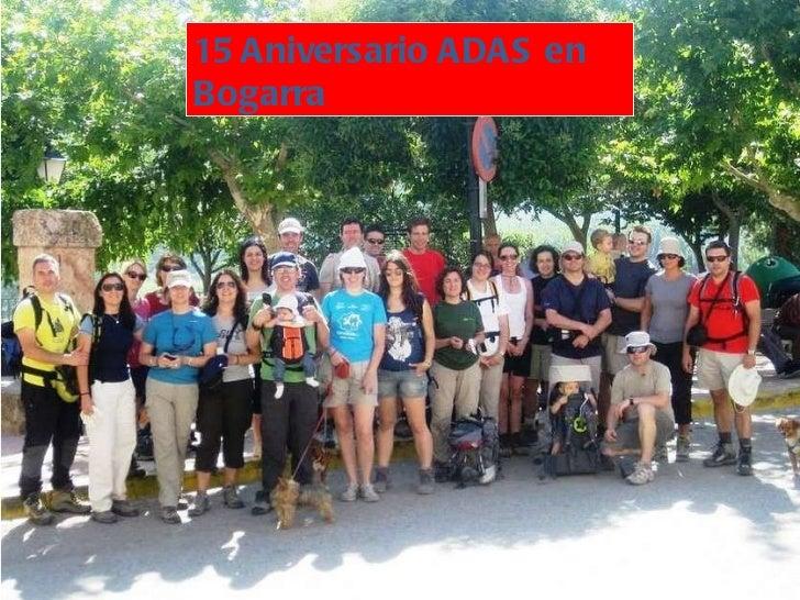 15 Aniversario ADAS en Bogarra