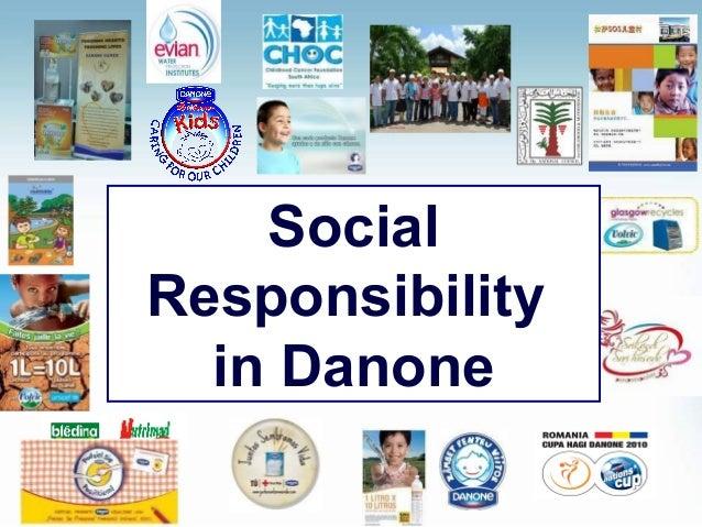 Social Responsibility in Danone