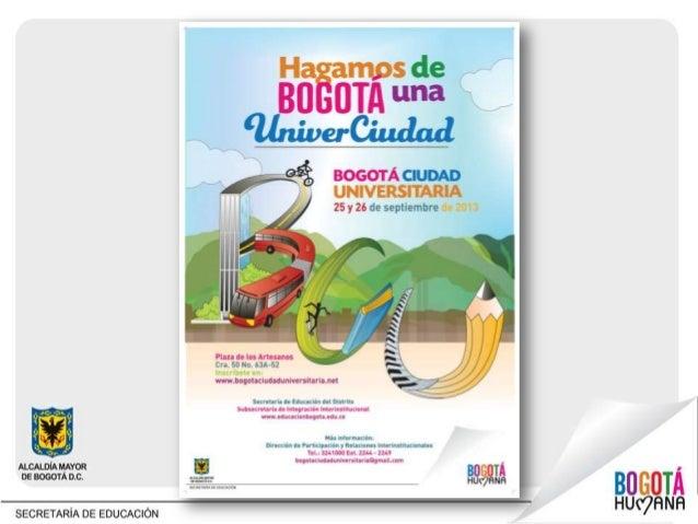 Bogotá es el territorio con el más amplio número de Instituciones Educativas y población estudiantil de Colombia. ¿Por qué...