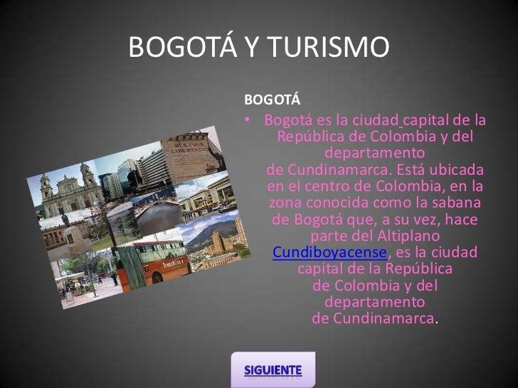 Bogotá turismo y cultura