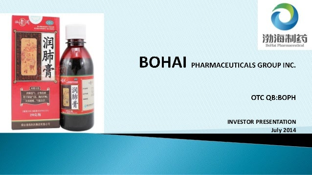 Bohai pharmaceuticals group_inc_2014