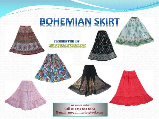 Bohemian skirts