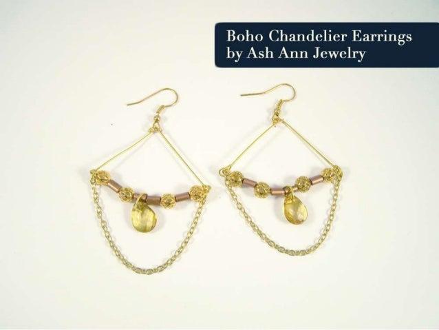 Boho Chandelier Earrings Tutorial