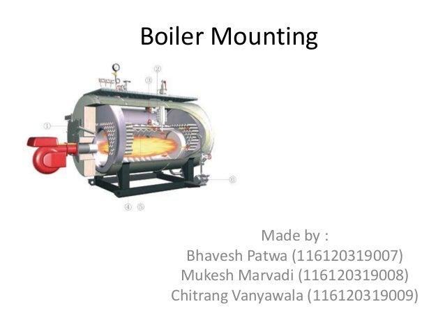 Boiler mounting