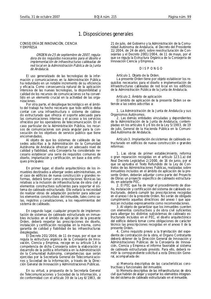 Sevilla, 31 de octubre 2007                            BOJA núm. 215                                       Página núm. 99 ...