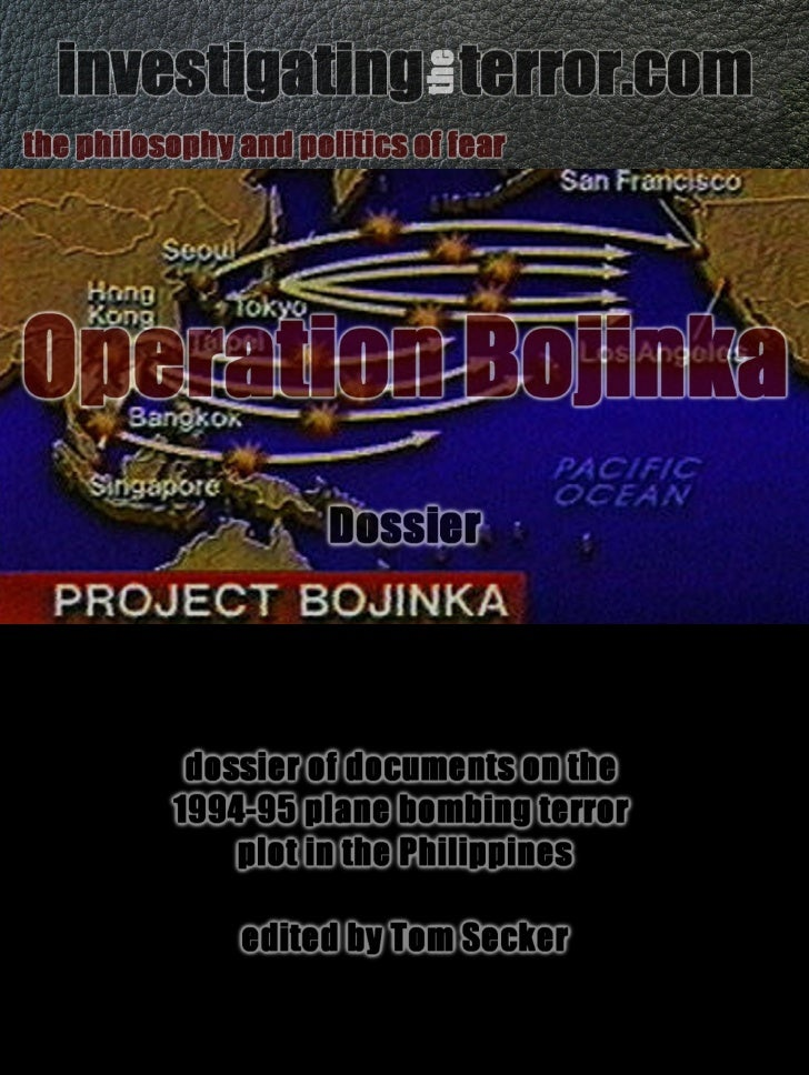 Operation Bojinka dossier