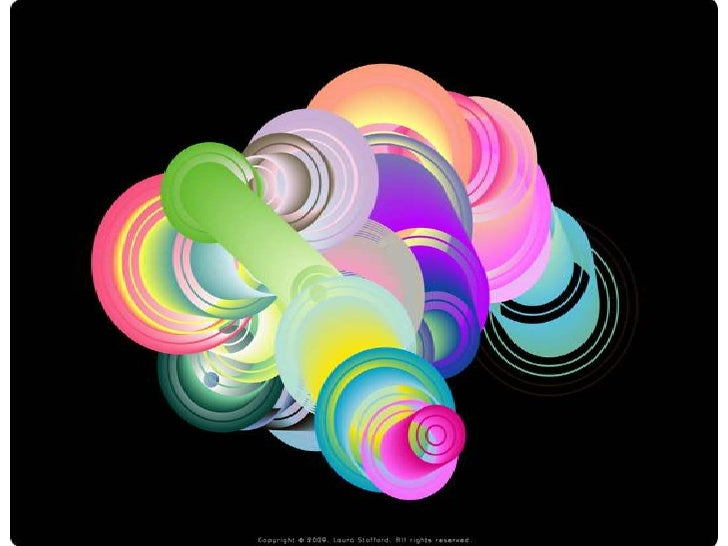 Bold And Beautiful Circular Graphic Design