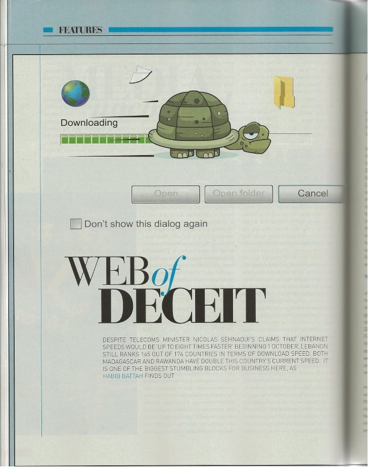 Bold Magazine: Web of Deceit