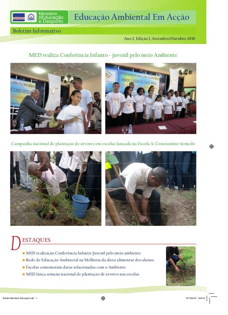 Educação Ambiental Em Acção                                         Educação Ambiental Em Acção         Boletim Informativ...