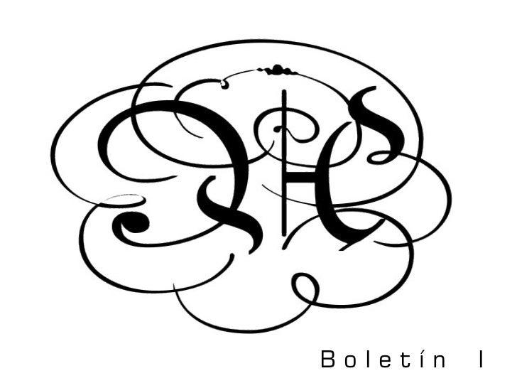 BoIetín   I
