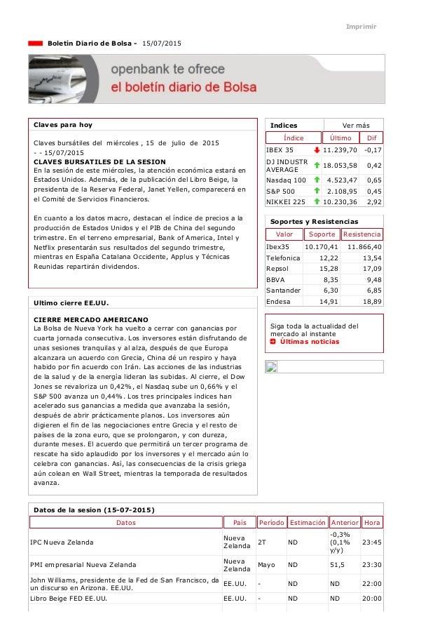 15/7/2015 Openbank http://openbank.webfg.com/boletin/boletin/boletin.php 1/3 Indices Vermás Índice Último Dif IBEX35 11....