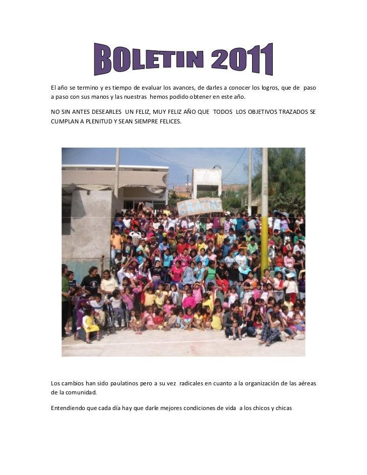 Boletin 2011