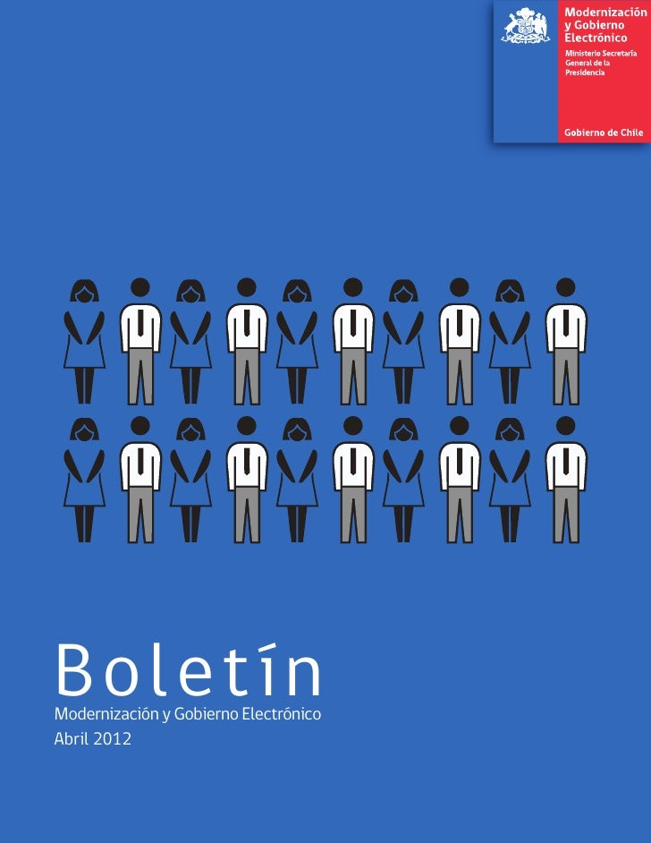 Boletín Modernización y Gobierno Electrónico- abril 2012