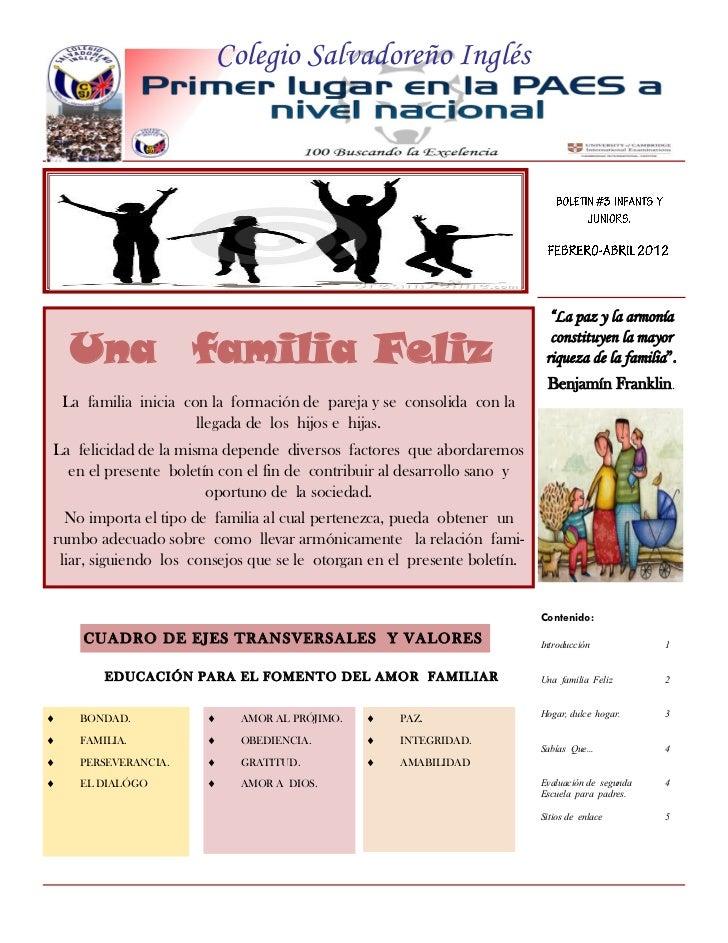 """Colegio Salvadoreño Inglés                                                                            """"La paz y la armonía..."""