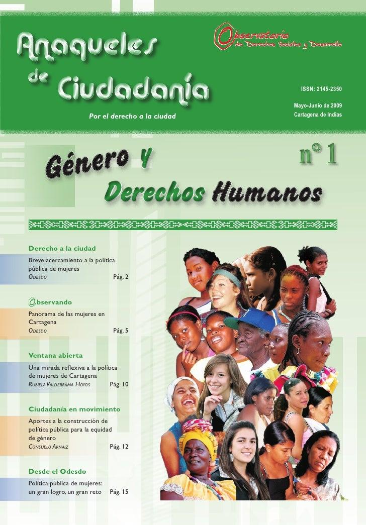 Anaqueles  de     Ciudadanía                                       ISSN: 2145-2350                                        ...