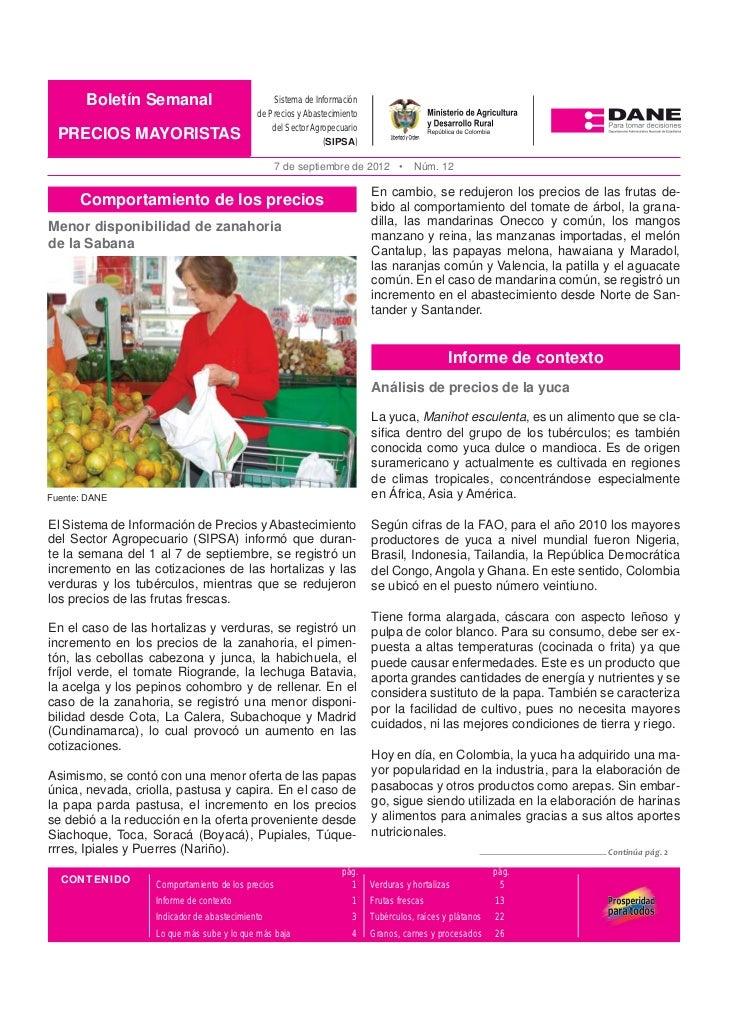 Boletín Semanal       Boletín Mensual                          Sistema de Información                                     ...