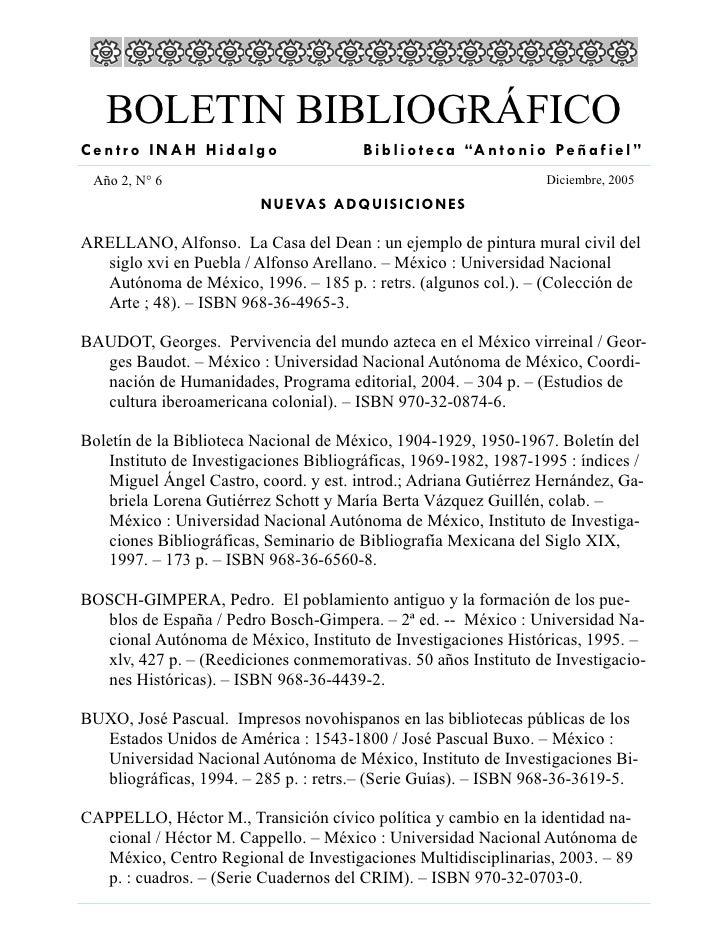 Boletin Diciembre 2005