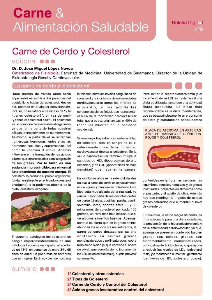 Carne &Alimentación Saludable