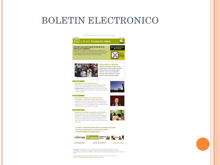 BOLETIN ELECTRONICO