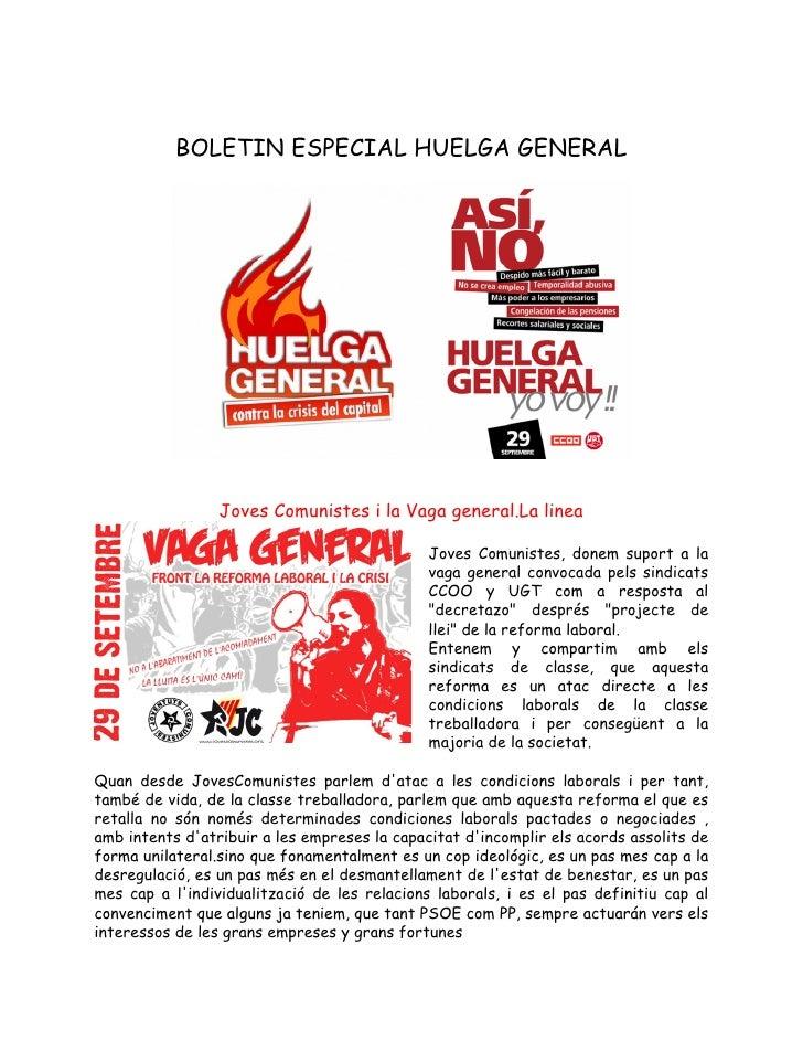 Boletin especial huelga general 3