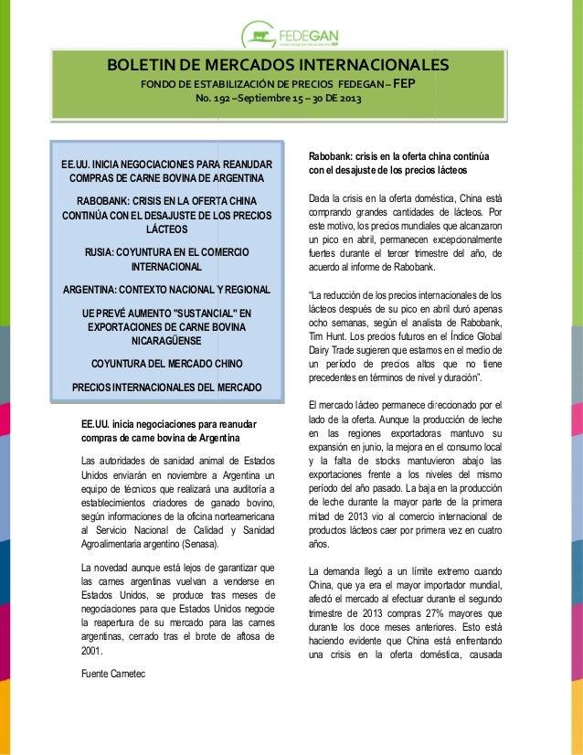 Boletin mercados internacionales_192