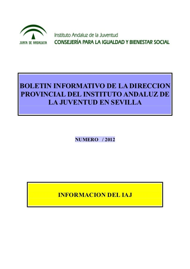 instituto juventud sevilla: