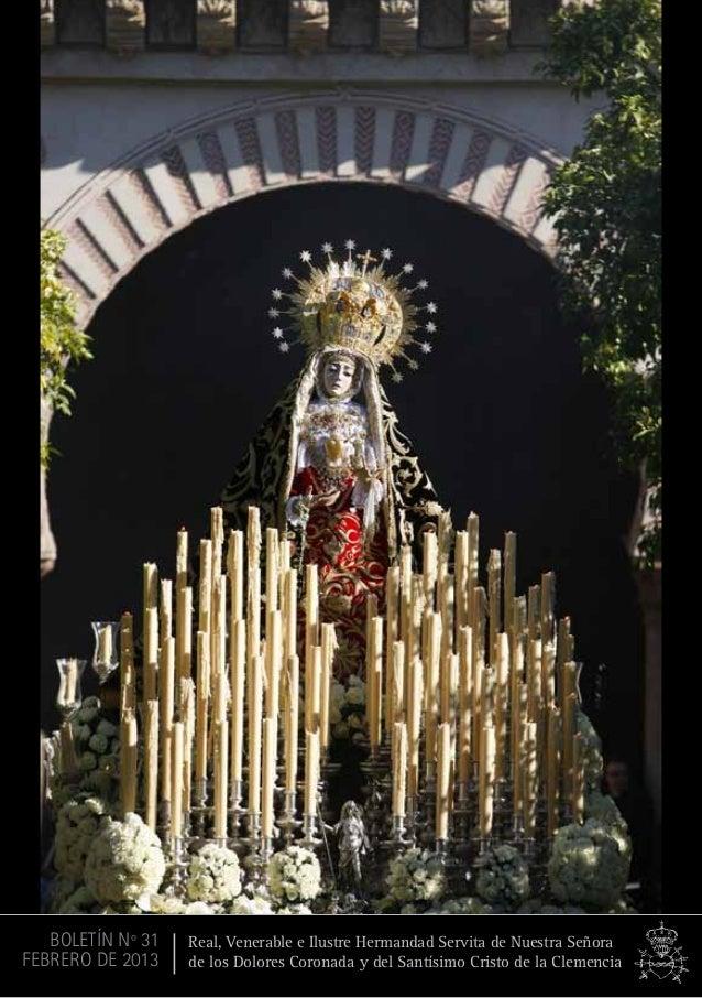 1 Real, Venerable e Ilustre Hermandad Servita de Nuestra Señora de los Dolores Coronada y del Santísimo Cristo de la Cleme...