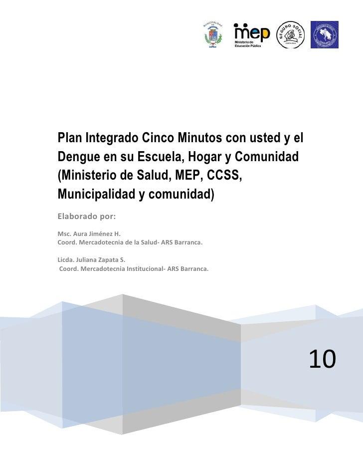 Boletín #2 dengue Area Rectora de Barranca