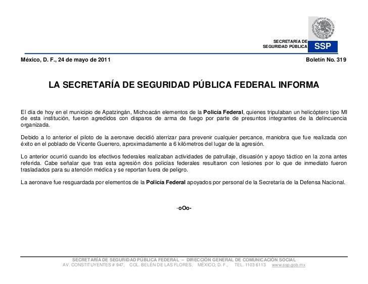 SECRETARÍA DE                                                                                                 SEGURIDAD PÚ...