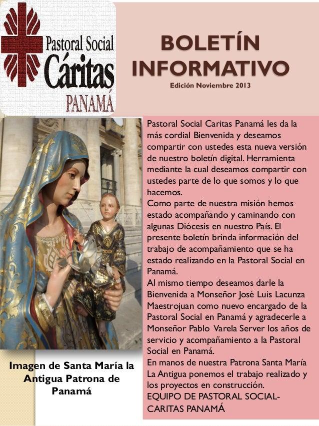 Boletín Cáritas Panamá