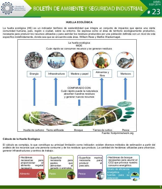 Boletín de ambiente y seguridad industrial   enero 2014