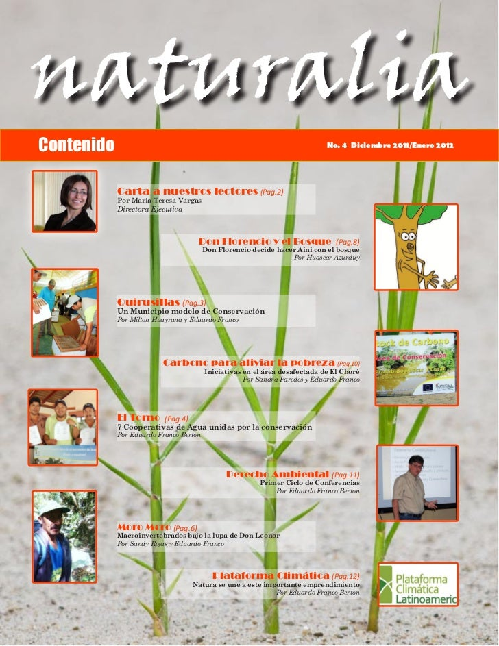 Boletín Naturalia IV